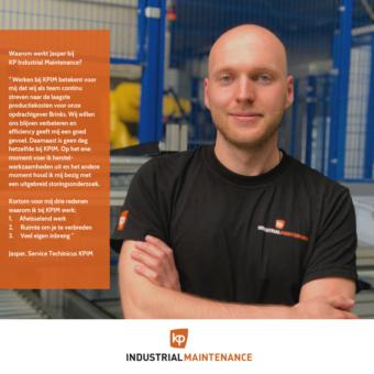 Jasper Klein Poelhuis Industrial Maintenance